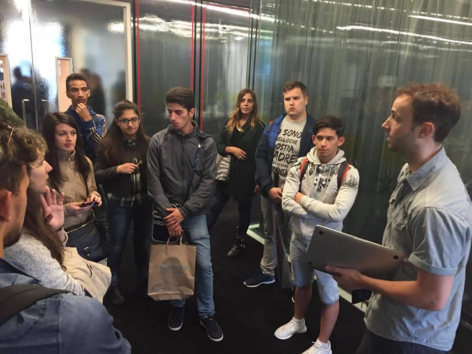Studenti ICT sede Google